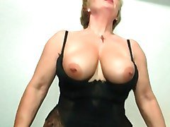 I am Pierced - kinky granny with piercings riding cock