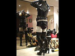 roxina masked rubber maid x