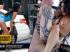Veronica Rodriguez in Veronica Rodriguez's Sloppy Blowjob - MofosNetwork